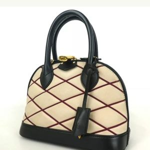 Authentic Louis Vuitton Marage Alma BB handbag l